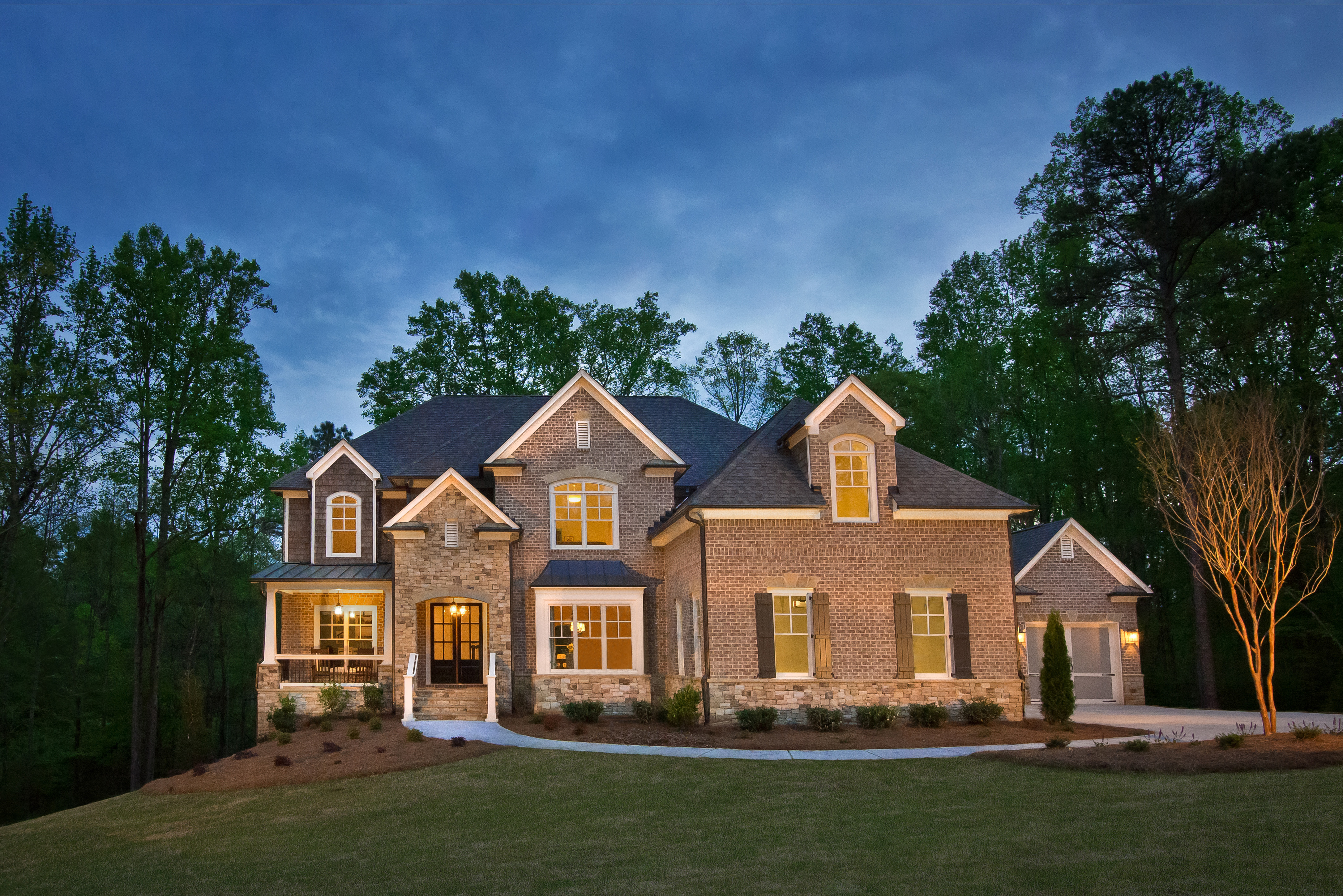 Muirfield Park New Homes In Milton Ga Peachtree Residential