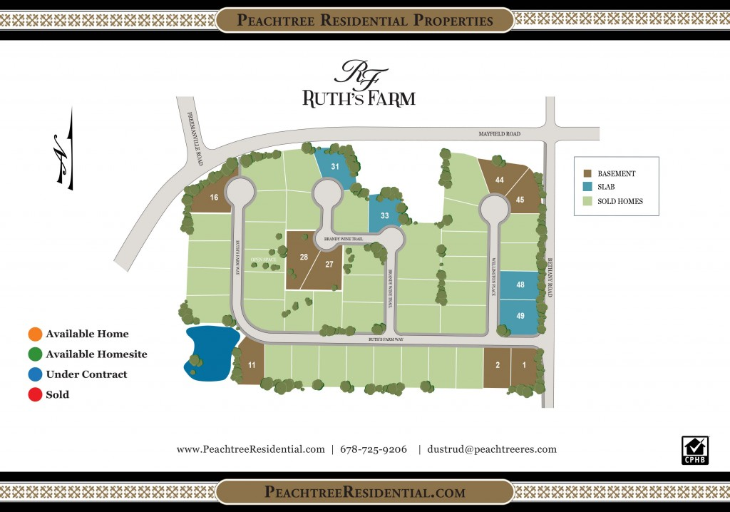 Ruths Farm site plan insert