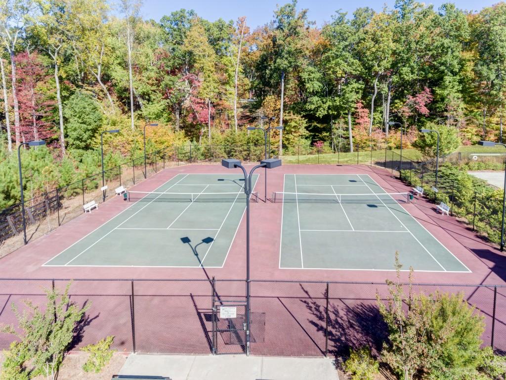 Hampshires tennis courts