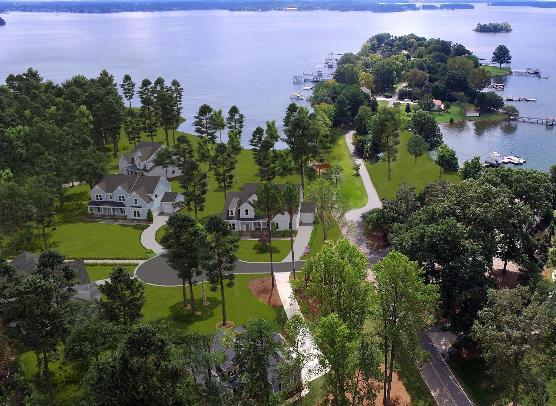 Lakeside on Brawley Lakeside Living Aerial