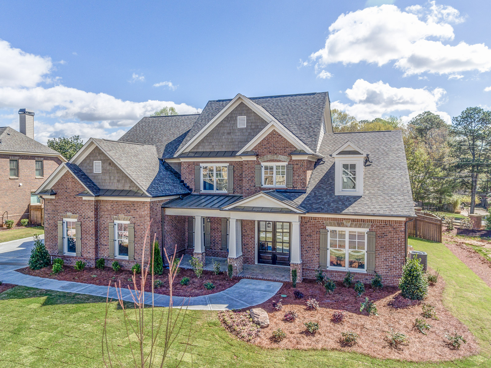 Muirfield park articles peachtree residential for Milton home builders