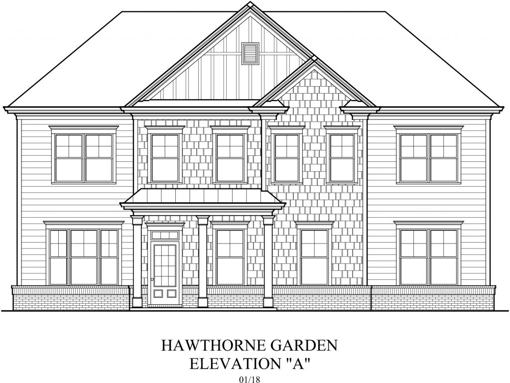 Oglethorpe new homes in peachtree corners ga peachtree residential hawthorne garden malvernweather Choice Image