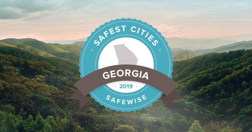 Georgia's top 10 safest cities