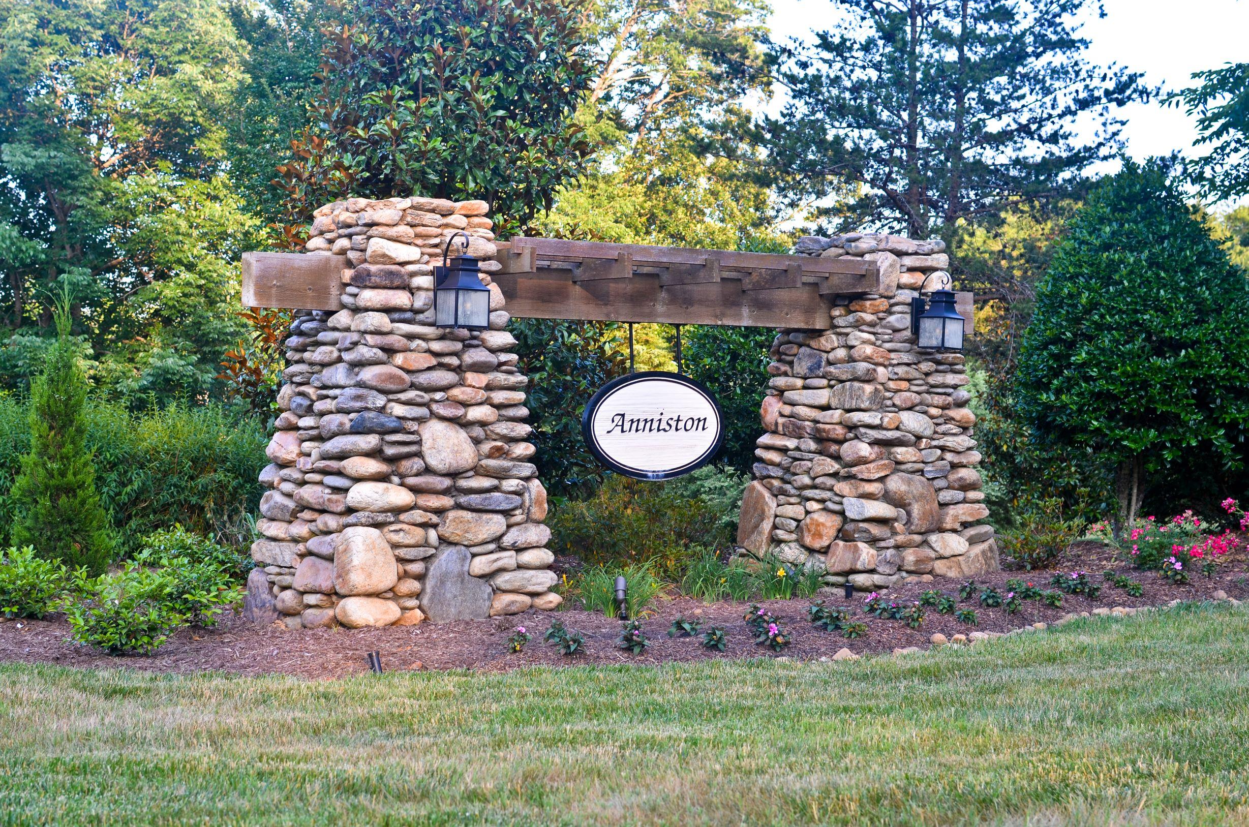 Anniston sign
