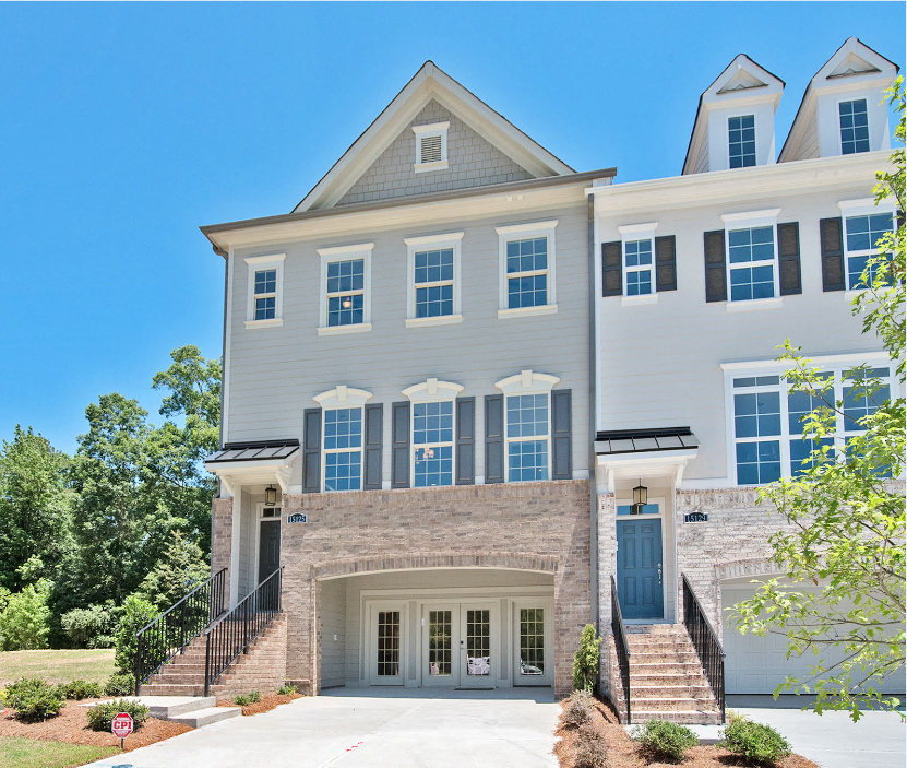 Summit at River Run townhome exterior