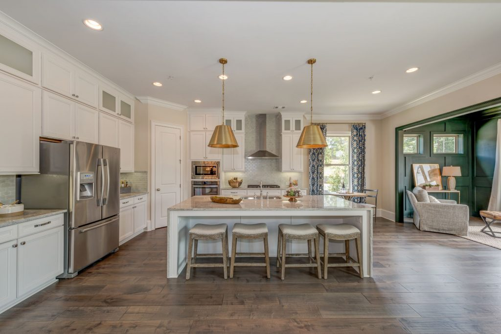 Townhome Living at Duke Reserve kitchen