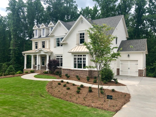 Exterior home in Peachtree Corners Time to Buy