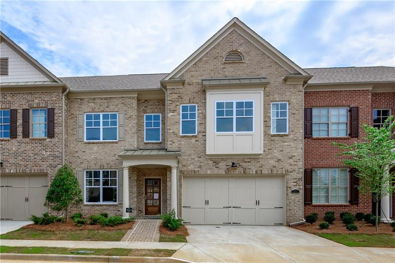 Duke Reserve in Peachtree Corners townhome community