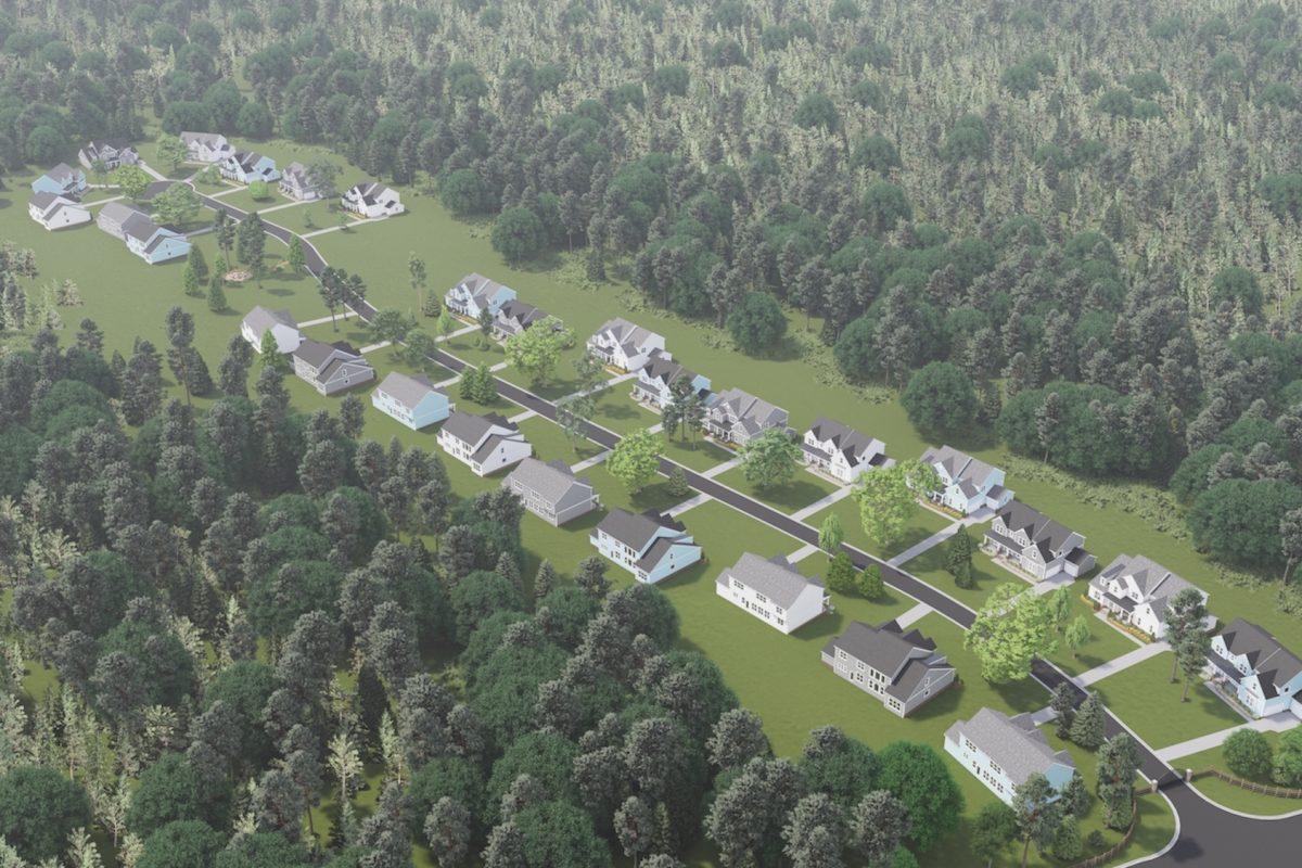 Garden Park Aerial Image