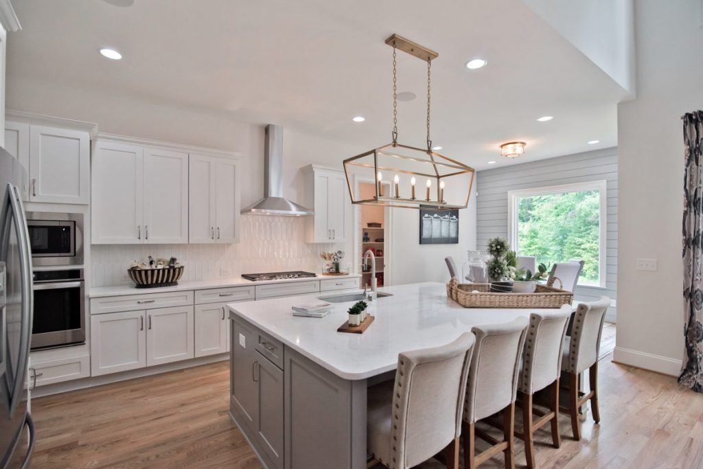 Waterside at River Glen open concept island kitchen