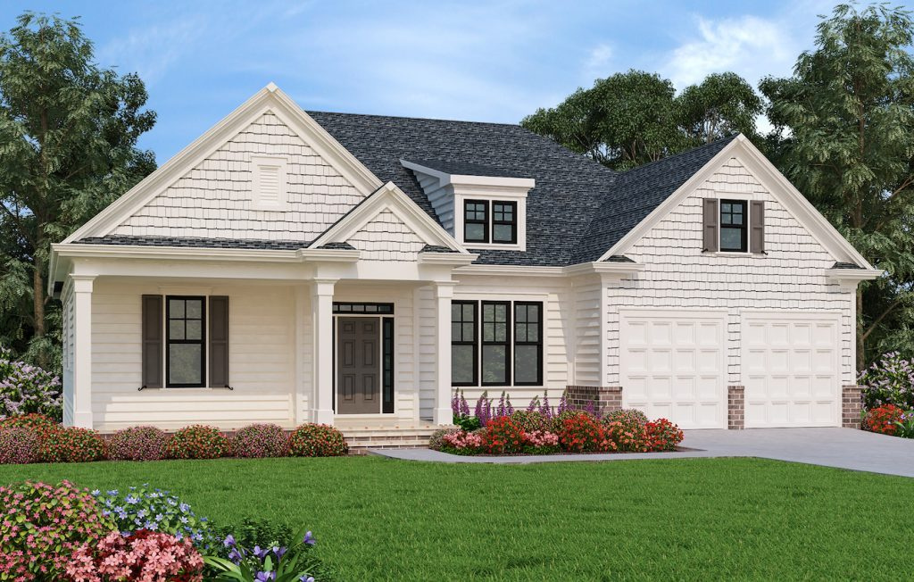 Tuscany Exterior Rendering