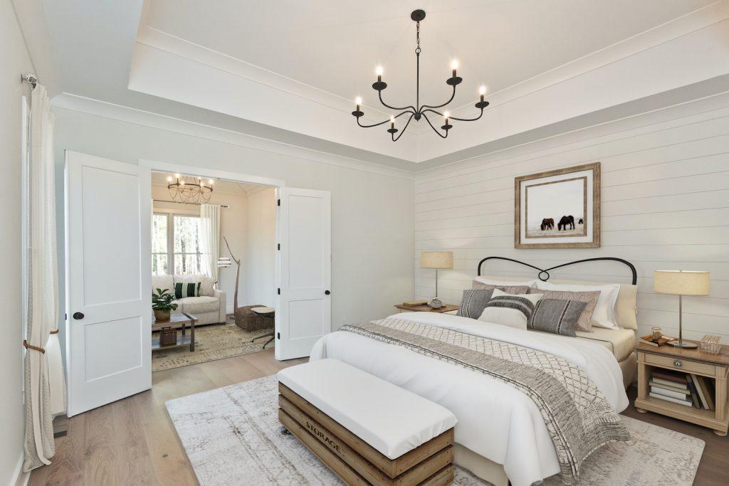 Garden Park Master bedroom