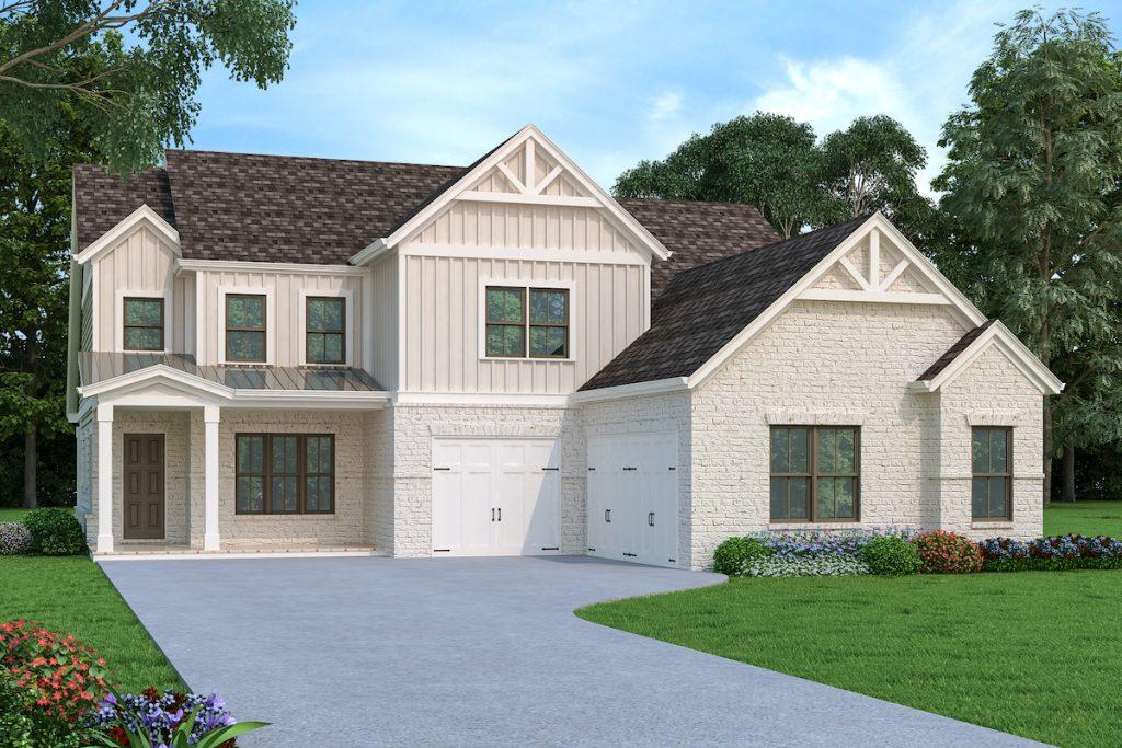 Chelsea modern farmhouse plan