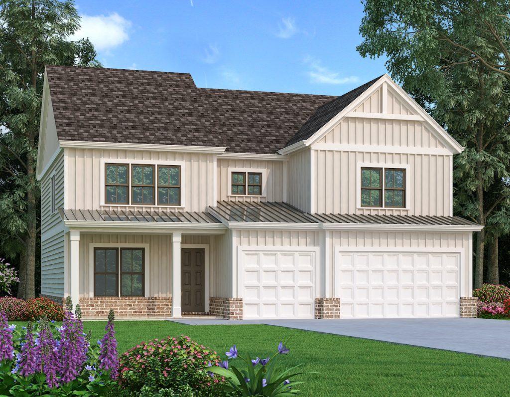 longwood modern farmhouse plan